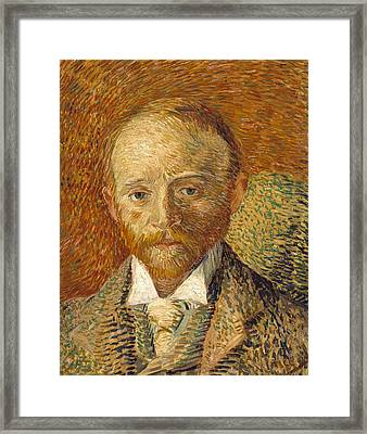 Portrait Of Alexander Reid 1887 Framed Print