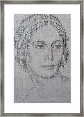 Portrait Of Anna Pavlova Framed Print