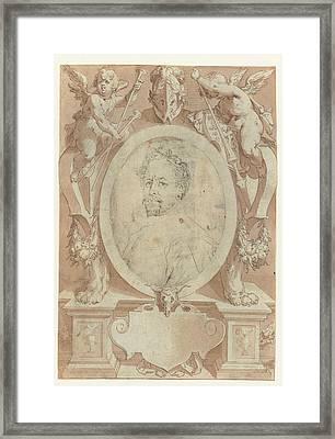Portrait Of B. Spranger Framed Print