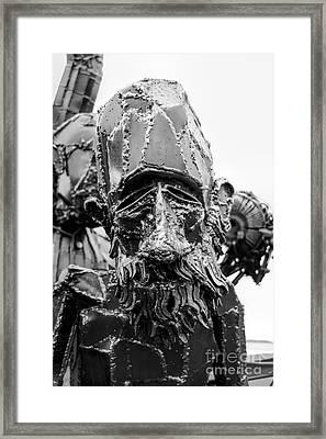 Portrait Of Beardy Framed Print by Rick Kuperberg Sr