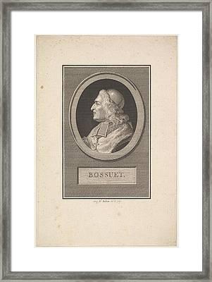 Portrait Of Bossuet Framed Print