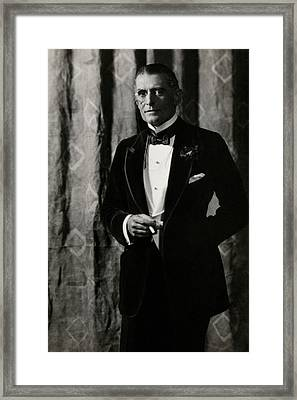 Portrait Of Charles Cherry Framed Print