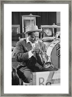 Portrait Of Charlie Shavers 1953 Framed Print