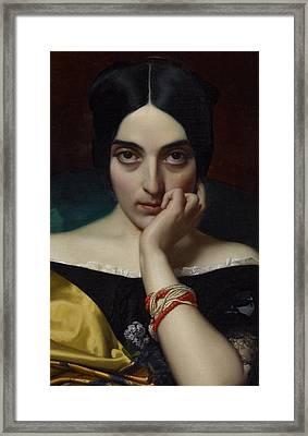 Portrait Of Clementine Framed Print