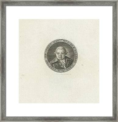 Portrait Of Cornelis Van Foreest Framed Print by Abraham Jacobsz. Hulk