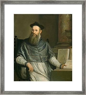 Portrait Of Daniele Barbaro Framed Print by Paolo Caliari Veronese