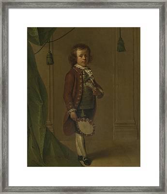 Portrait Of Dionys Eliasz Van Nijmegen, Dionys Van Nijmegen Framed Print by Litz Collection