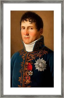 Portrait Of Felix Baciocchi Framed Print by Stefano Tofanelli
