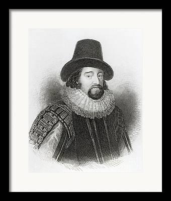 British Portraits Drawings Framed Prints