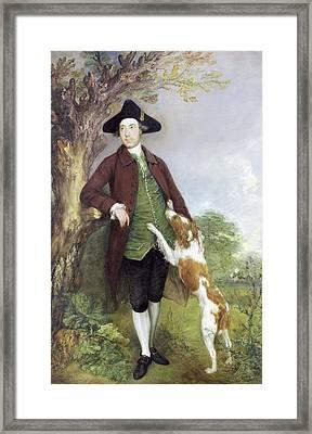 Portrait Of George Venables Vernon, 2nd Framed Print