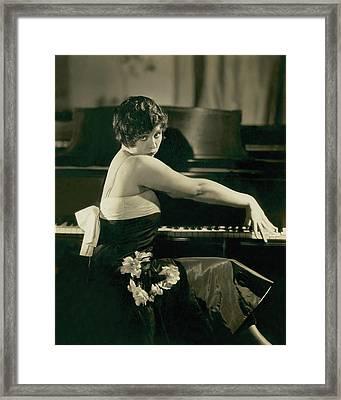 Portrait Of Helen Kane Framed Print