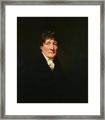 Portrait Of Henry Mackenzie 1745-1831 C.1810 Oil On Canvas Framed Print