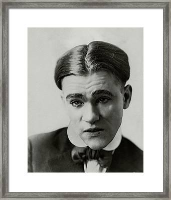 Portrait Of James Bartow Framed Print