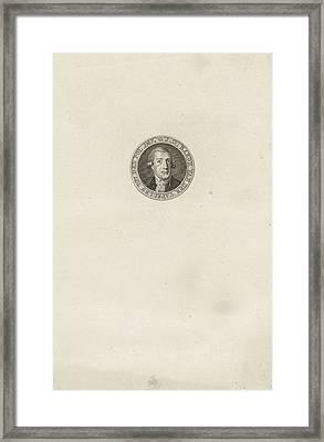 Portrait Of Joan Van Der Capellen Tot Den Pol Framed Print