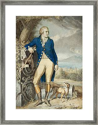 Portrait Of Johann Wolfgang Von Goethe In The Country  Framed Print