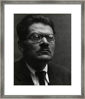 Portrait Of Jose Clemente Orozco Framed Print