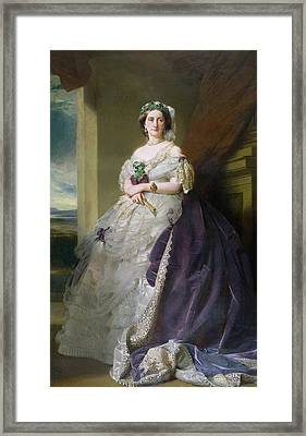 Portrait Of Lady Middleton 1824-1901, 1863 Framed Print