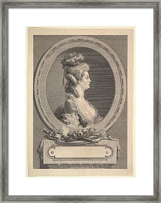 Portrait Of Louise �milie Baronne De *** Framed Print