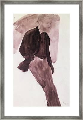Portrait Of Manet Framed Print