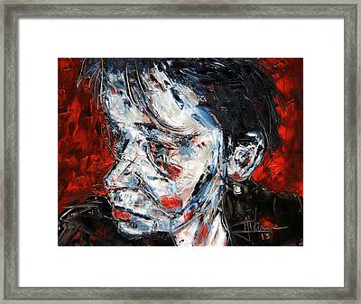 Portrait Of Marion  Framed Print