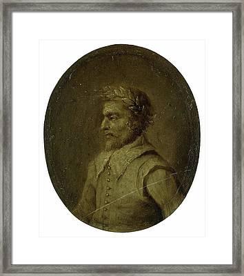 Portrait Of Matheus De Casteleyn, Priest And Rhetorician Framed Print