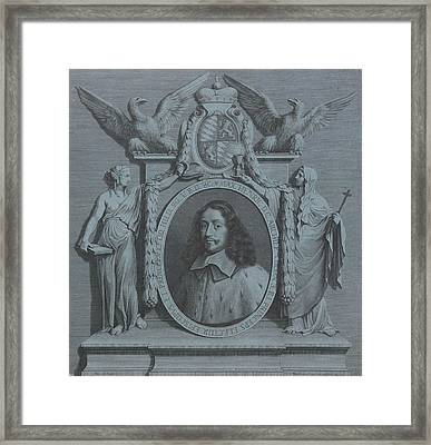 Portrait Of Maximilian Henry Of Bavaria, Archbishop Framed Print