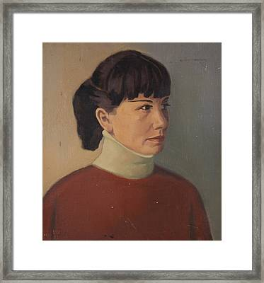 Portrait Of Miryana Framed Print by Stefan Shikerov