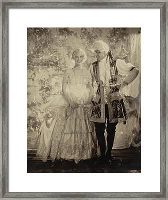 Portrait Of Mrs. Cornelius Vanderbilt Whitney Framed Print