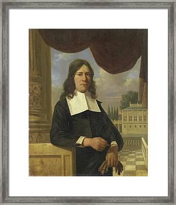 Portrait Of Nicolaes Eichelberg Died 1699 Framed Print