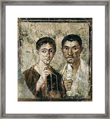 Portrait Of Paquius Proculus Framed Print by Everett