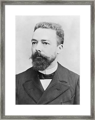 Portrait Of Paul Doumer Photo Framed Print by Andre Adolphe Eugene Disderi