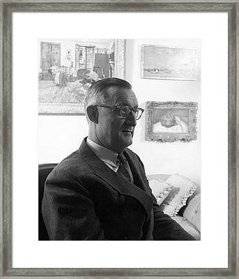Portrait Of Paul Mellon Framed Print
