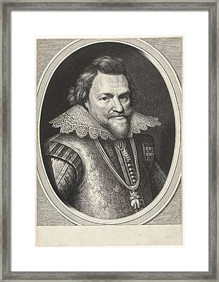 Portrait Of Philip William, Prince Of Orange Framed Print by Prince Of Orange And Willem Jacobsz. Delff And Michiel Jansz Van Mierevelt