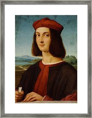 Portrait Of Pietro Bembo Framed Print
