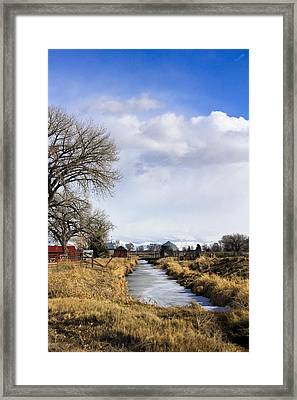Portrait Of Rural Colorado Framed Print