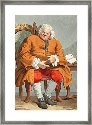 Portrait Of Simon Fraser, Lord Lovat Framed Print