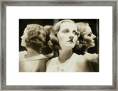 Portrait Of Tallulah Bankhead Framed Print by Cecil Beaton