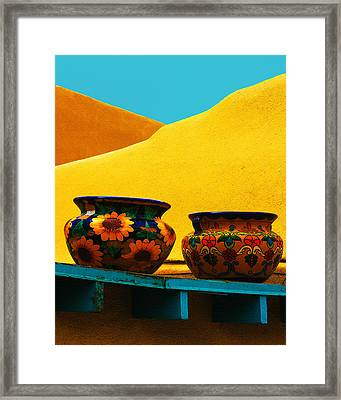 Portrait Of Taos Framed Print