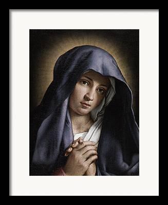 Christus Framed Prints