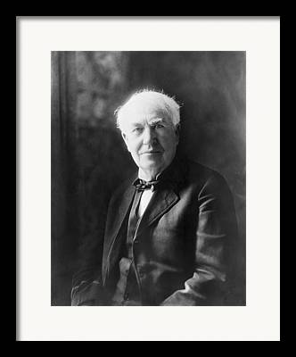 Edison Framed Prints