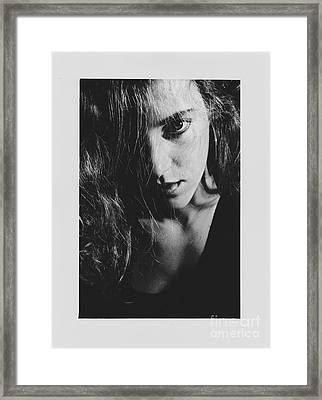 Portrait Woman Framed Print by Jeepee Aero