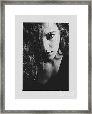 Portrait Woman Framed Print