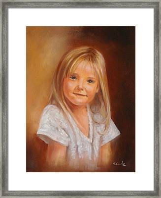 Portraits Framed Print