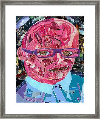 Portraiture Of Passion Framed Print by Kenneth James