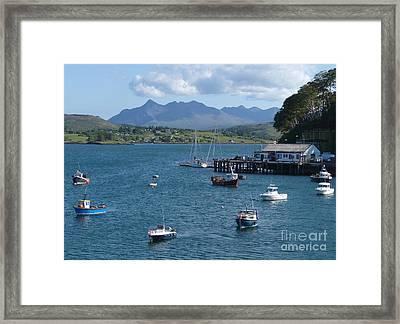 Portree Harbour - Isle Of Skye Framed Print