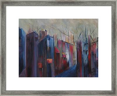 Port's Passage Framed Print