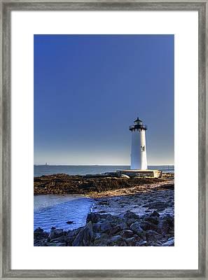 Portsmouth And The Whaleback Framed Print