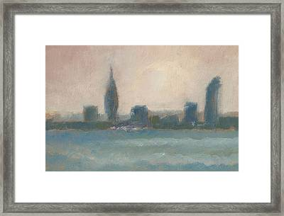 Portsmouth Dawn Part Four Framed Print by Alan Daysh