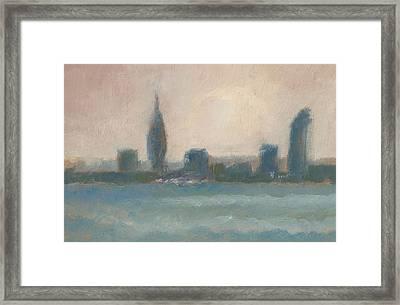Portsmouth Dawn Part Four Framed Print by Alan Daysh