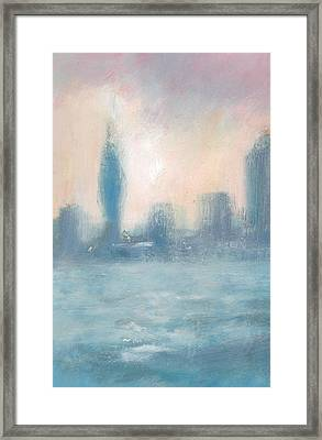 Portsmouth Dawn Part One Framed Print by Alan Daysh